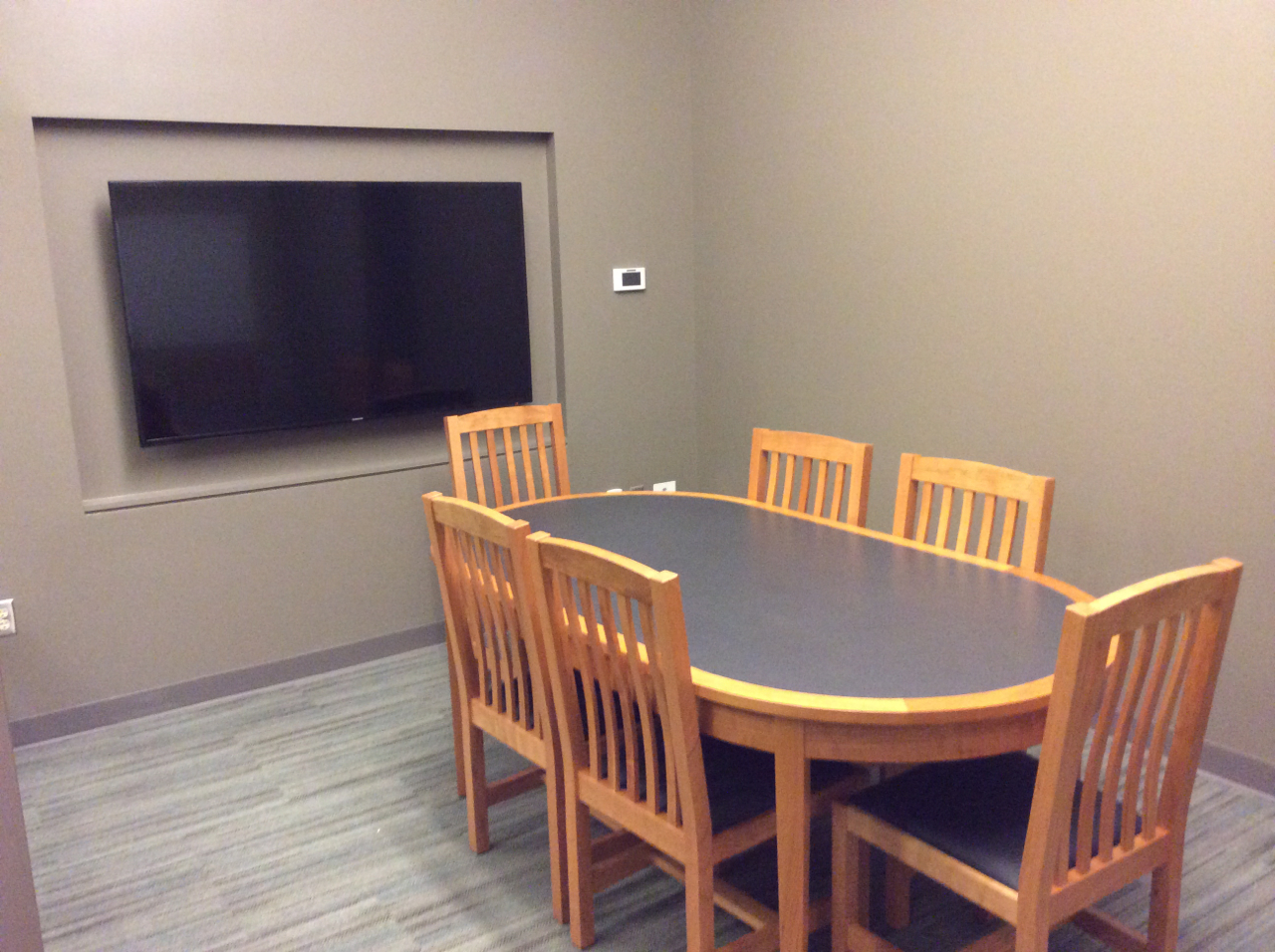 Large Group Study Room at Pitts