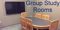 Group Study Rooms at Pitts